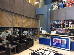 Front lobby of MLB Networks