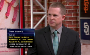 Tom Stone during interview on MLB Now, February 21, 2019.